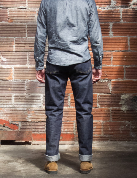 OA02-0515 Slim Tapered Unsanforized