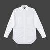 Oxford Double Pocket Classic Collar Shirt - White