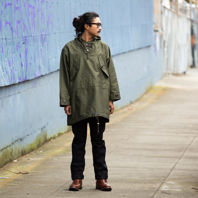 PARKA, FIELD, COTTON, OD