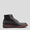 4515H Black Trapper Calf Plain Toe Boot