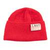 Arctic Research Watch Cap - Red Wool