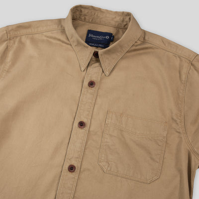 Parker Short Sleeve - Buckthorn Brown