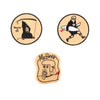 Peanuts x Scum boy Patches - Set of 3