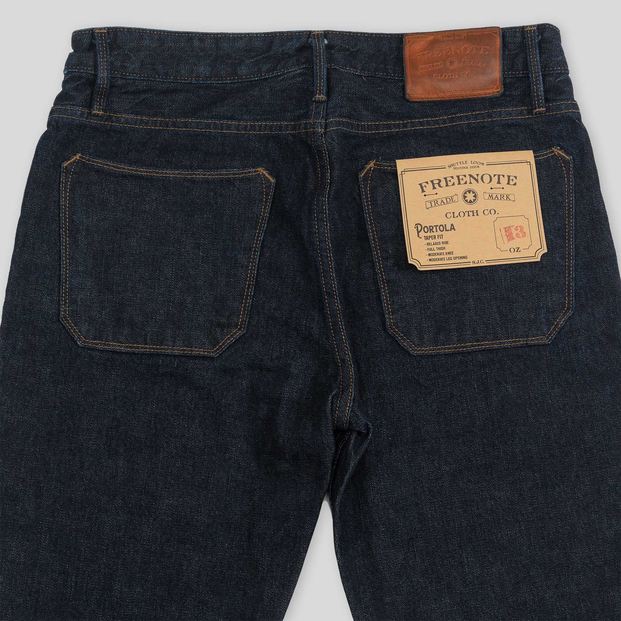 Portola Classic Taper - 13oz One Wash