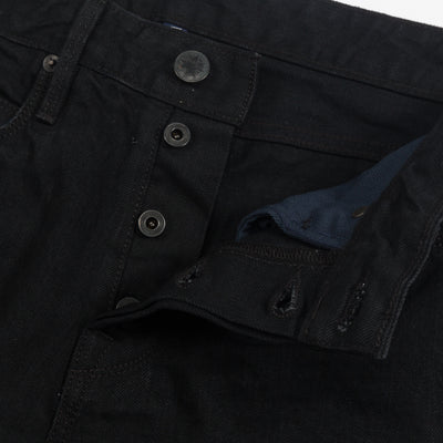 Portola Classic Taper - Black/Black One Wash