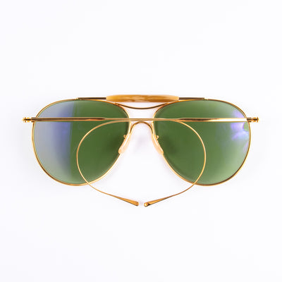 Aviator Sunglasses - Gold