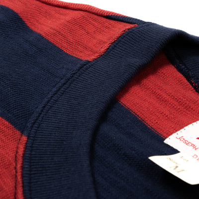 Buco Stripe Tee - Red/Navy