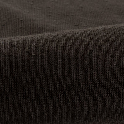 Double Diamond Henley - Charcoal