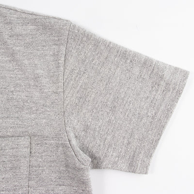 Rayon/Cotton Pocket Tee - Gray