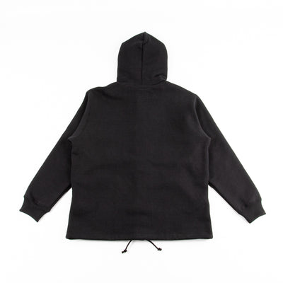 Snap Button Sweatshirt - Black