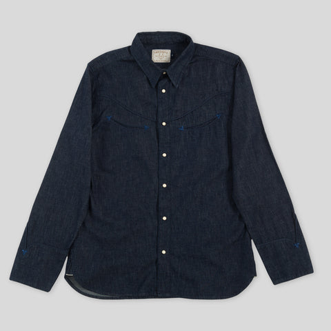Rambler Shirt - Selvedge Denim