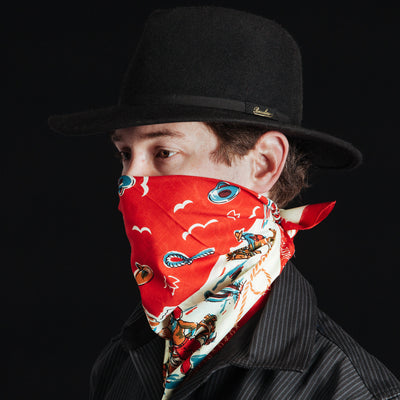 Ranch Bandanna - Red