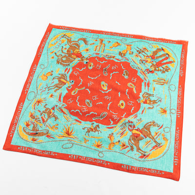 Mister Freedom Ranch Kerchief - Turquoise - Standard & Strange