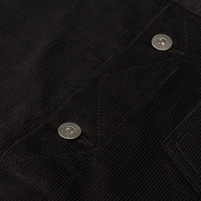 Ranch Jacket - Black Corduroy