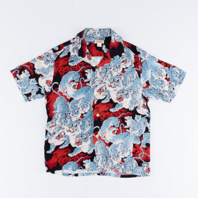 Real McCoy's Hawaiian Shirt - Hyaku-Tora