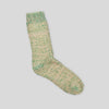 Recycled Rainbow Sock - True Green