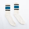Retro Stripe Sock - Teal