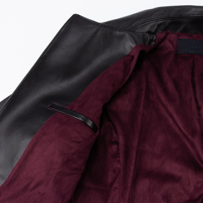 Rider's Jacket - Black Yak Leather
