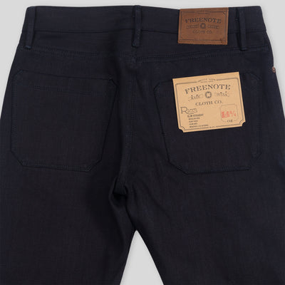 Rios Modern Slim Jeans - 14.75 oz Blue/Black Denim
