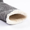 Double Face Merino/Organic Cotton Socks - Charcoal