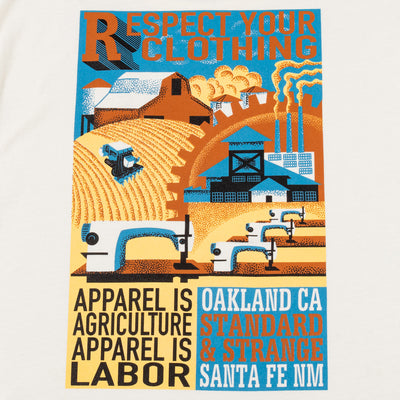 Apparel Is Labor Tee