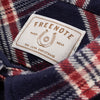 S&S x Freenote Modern Western - Heavyweight Navy Flannel