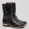 S&S x Wesco Black CXL Horsehide Engineer Boot