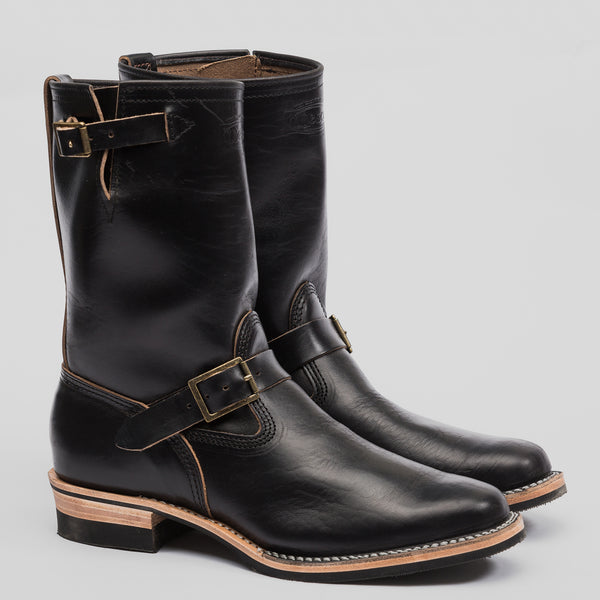 S Amp S X Wesco Black Cxl Horsehide Engineer Boot Standard