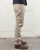 Slim Tapered Chino - Khaki Selvedge
