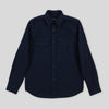 Shacket - Navy Reverse Sateen