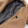 Shane's Dispatch Coat - Khaki Melton Wool