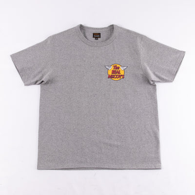 Short Sleeve Logo Tee - Gray
