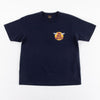 Short Sleeve Logo Tee - Navy