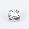 Silver Brooch - Burger