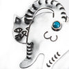 Silver Brooch - Catass