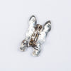 Silver Brooch - French Bulldog