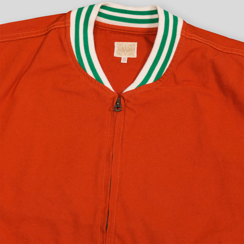 Stadium Jacket - Sunset Orange