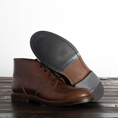 [Pre-order for January 2021 delivery] Steadfast Chukka Boot - Brown French Calf