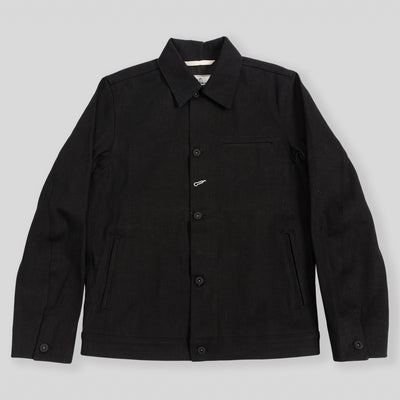Stealth Supply Jacket - 15oz Black Selvedge