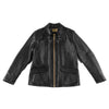 The Real McCoy's Dead Wood Leather Jacket - Black - Standard & Strange