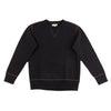 The Real McCoy's Loopwheel Crewneck Sweatshirt - Black