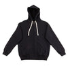 The Real McCoy's Loopwheel Full Zip Hoodie - Black - Standard & Strange