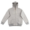 The Real McCoy's Loopwheel Full Zip Hoodie - Gray - Standard & Strange