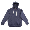 The Real McCoy's Loopwheel Full Zip Hoodie - Navy - Standard & Strange