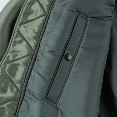 The Real McCoy's Type B-15D Jacket - Sage Green - Standard & Strange