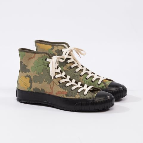 S&S x TSPTR High Top Sneakers - Mitchell Camo