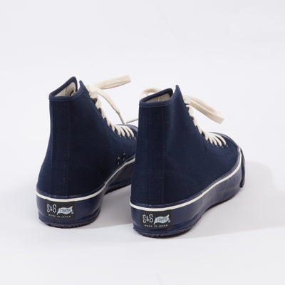 S&S x TSPTR High Top Sneakers - Navy