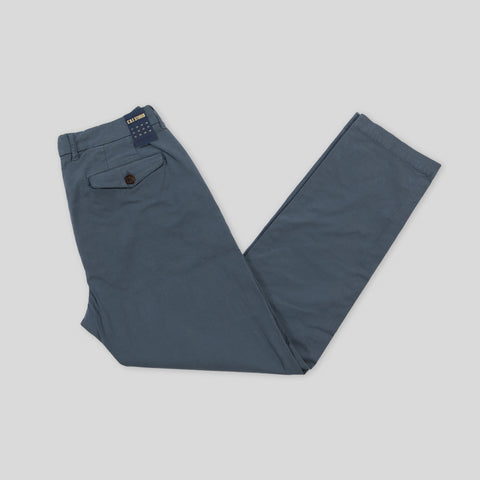 Tapered Chino - Comfort Twill Blue Fog