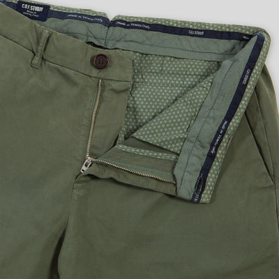 Tapered Chino - Comfort Twill Olive