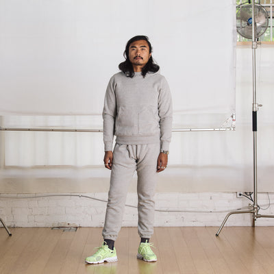 Standard & Strange Telegraph Sweatpants - Heather Gray - Standard & Strange